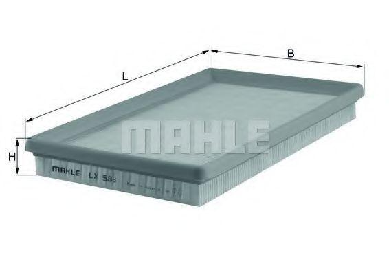 Фильтр воздушный MAHLE LX588