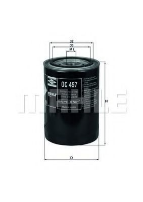 Купить Фильтр масляный MAHLE OC457
