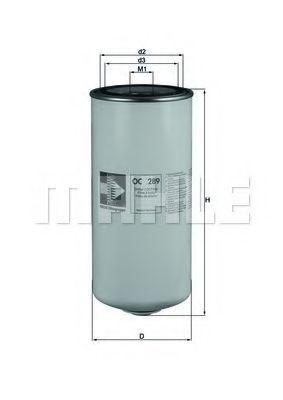 Купить Фильтр масляный MAHLE OC289