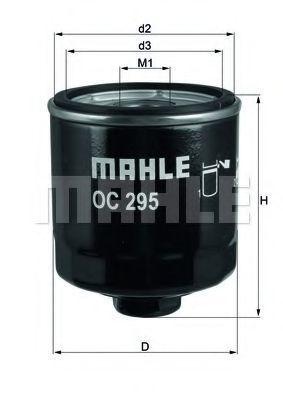 Фильтр масляный MAHLE OC295