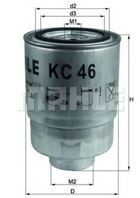 Фильтр топливный MAHLE KC 46