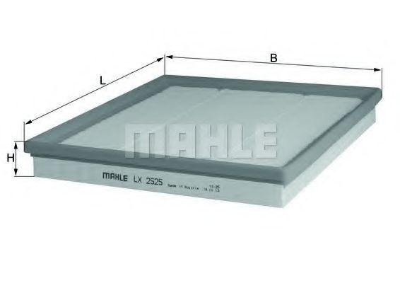 Фильтр воздушный MAHLE LX2525