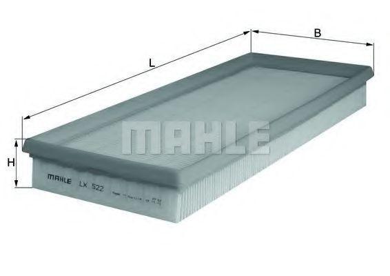 Фильтр воздушный MAHLE LX522