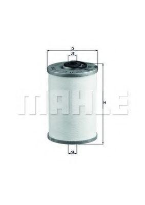 Фильтр топливный MAHLE KX43