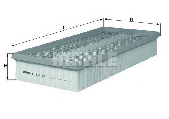Фильтр воздушный MAHLE LX536