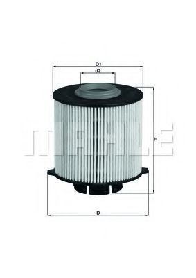 Фильтр топливный MAHLE KX 265D
