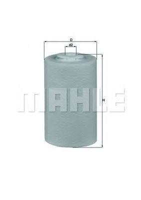 Фильтр топливный MAHLE KX68D