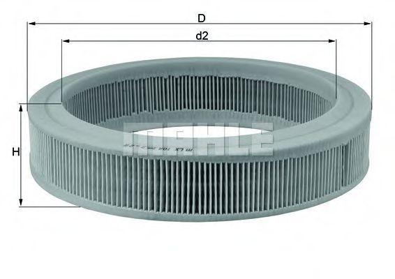 Фильтр воздушный MAHLE LX108