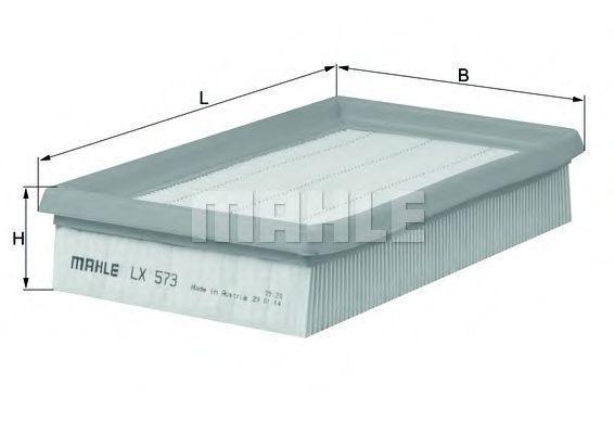 Фильтр воздушный MAHLE LX 573