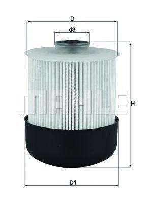 Фильтр топливный MAHLE KX 338/26D