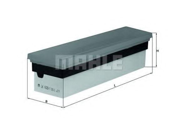 Фильтр воздушный MAHLE LX18231