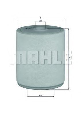 Фильтр воздушный MAHLE LX20494