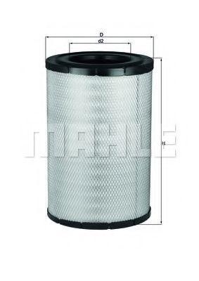 Фильтр воздушный MAHLE LX3137