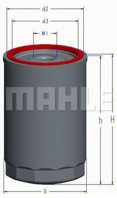 Купить Фильтр масляный MAHLE OC1