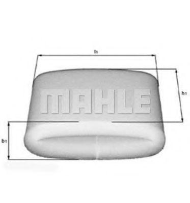 Фильтр воздушный MAHLE LX 110