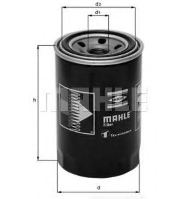 Фильтр масляный MAHLE OC275