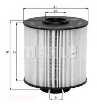 Фильтр топливный MAHLE KX672D