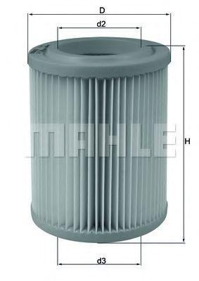 Фильтр воздушный MAHLE LX1768