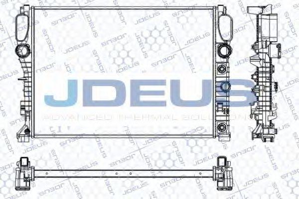 Радиатор, охлаждение двигателя J.DEUS RA0170730