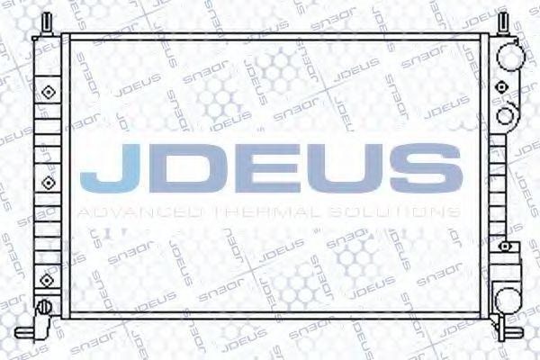 Радиатор, охлаждение двигателя J.DEUS 011M58