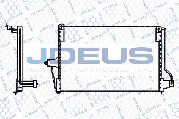 Конденсатор, кондиционер J.DEUS 720M01