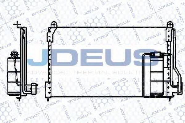 Конденсатор, кондиционер J.DEUS 720M03