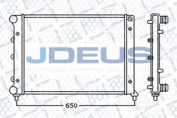 Радиатор, охлаждение двигателя J.DEUS 000M12