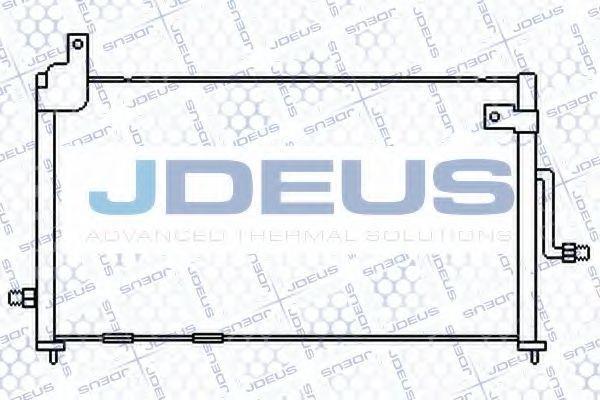 Конденсатор, кондиционер J.DEUS 756M07
