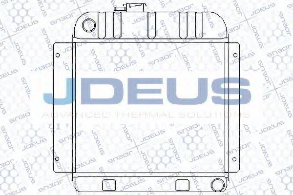 Радиатор, охлаждение двигателя J.DEUS RA0050000
