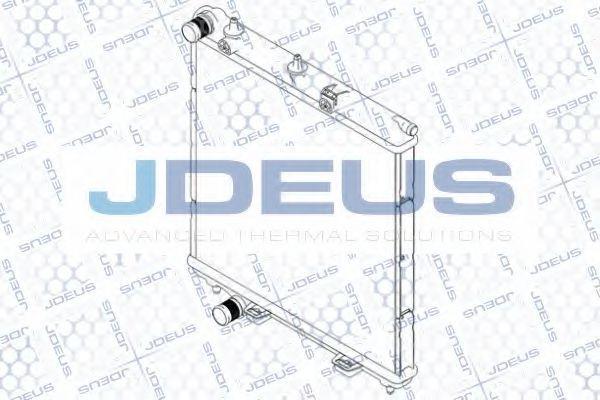 Радиатор, охлаждение двигателя J.DEUS RA0070191
