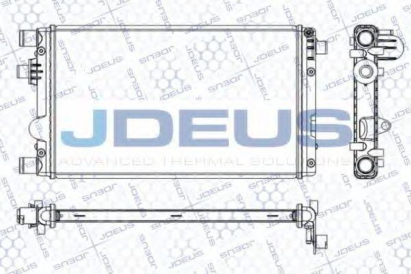Радиатор, охлаждение двигателя J.DEUS RA0110870
