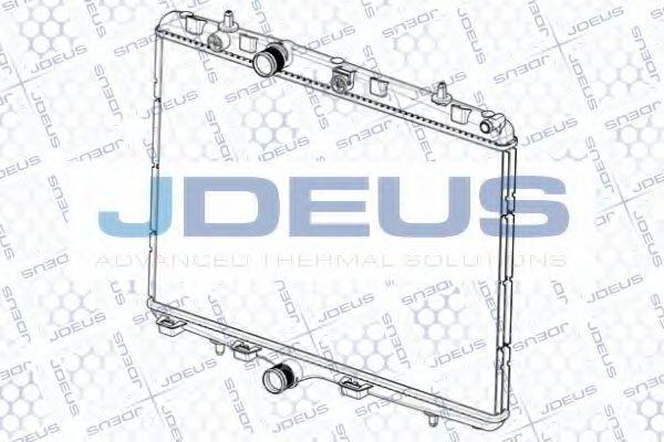 Радиатор, охлаждение двигателя J.DEUS RA0210350