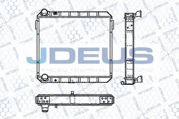 Радиатор, охлаждение двигателя J.DEUS RA1120300