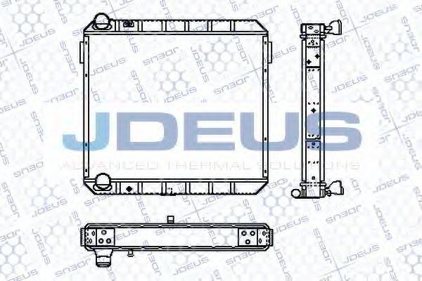 Радиатор, охлаждение двигателя J.DEUS RA1120310