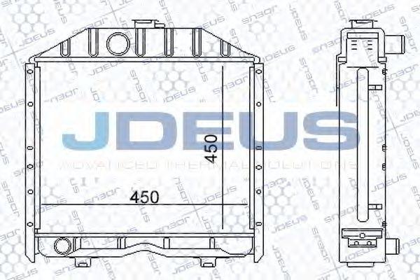 Радиатор, охлаждение двигателя J.DEUS 011M01