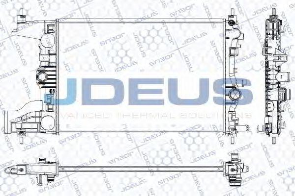 Радиатор, охлаждение двигателя J.DEUS RA0201040