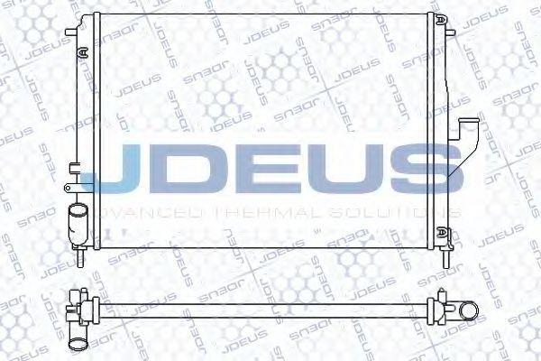 Радиатор, охлаждение двигателя J.DEUS 023M56