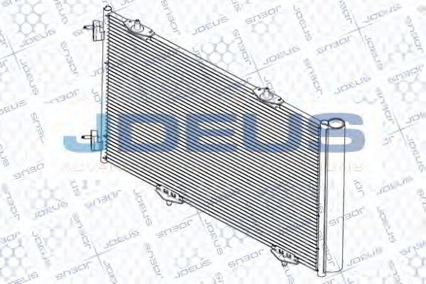Конденсатор, кондиционер J.DEUS RA7210430