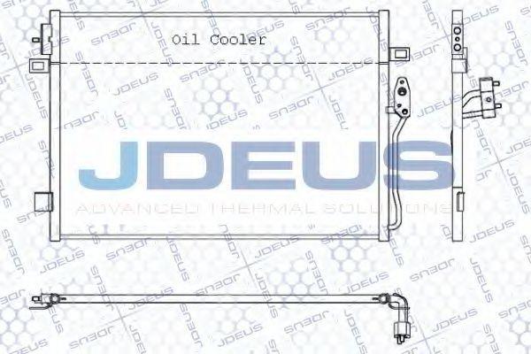 Конденсатор, кондиционер J.DEUS 711M64