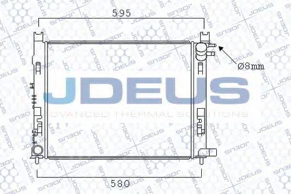 Радиатор, охлаждение двигателя J.DEUS 023M95