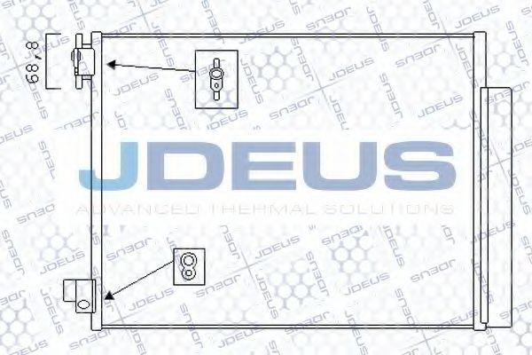Конденсатор, кондиционер J.DEUS 723M95