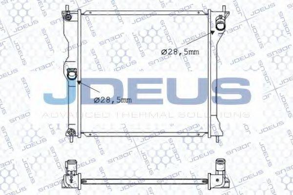 Радиатор, охлаждение двигателя J.DEUS 018M72