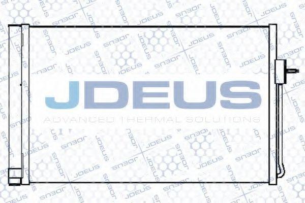 Конденсатор, кондиционер J.DEUS 720M80