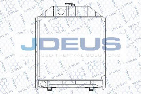 Радиатор, охлаждение двигателя J.DEUS 011M01A