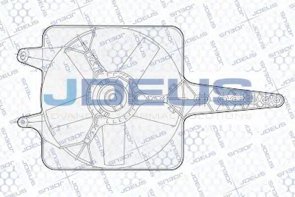 Вентилятор, охлаждение двигателя J.DEUS EV02227