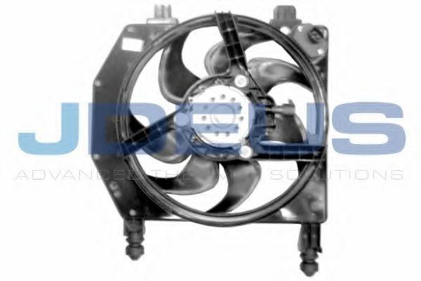 Вентилятор, охлаждение двигателя J.DEUS EV120860