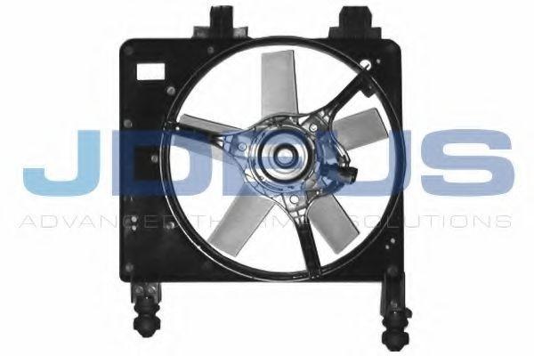 Вентилятор, охлаждение двигателя J.DEUS EV120960