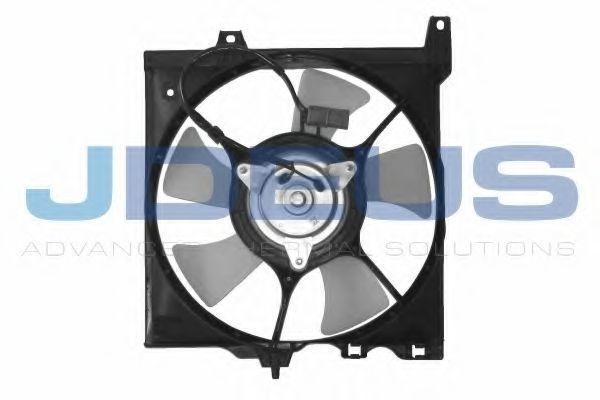 Вентилятор, охлаждение двигателя J.DEUS EV19M300