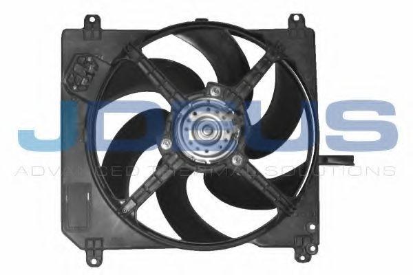 Вентилятор, охлаждение двигателя J.DEUS EV805600