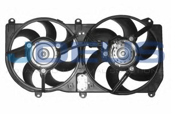 Вентилятор, охлаждение двигателя J.DEUS EV809800